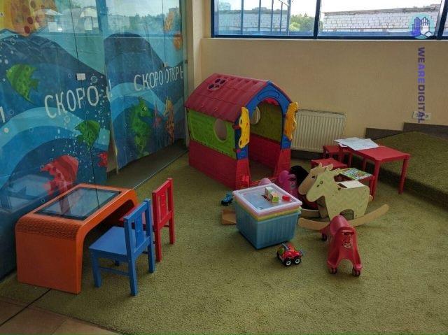 Интерактивный стол для развития и игр детей
