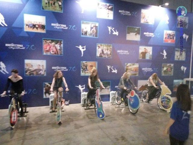 интерактивный велосипед фото