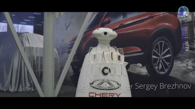 Мэппинг на презентации нового Chery Tiggo 7